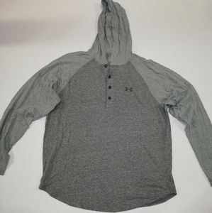 Men's Under Armour Hooded Henley